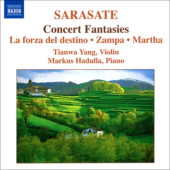 Tianwa Yang, Markus Hadulla. Sarasate. Music For Violin And Piano. Vol. 2