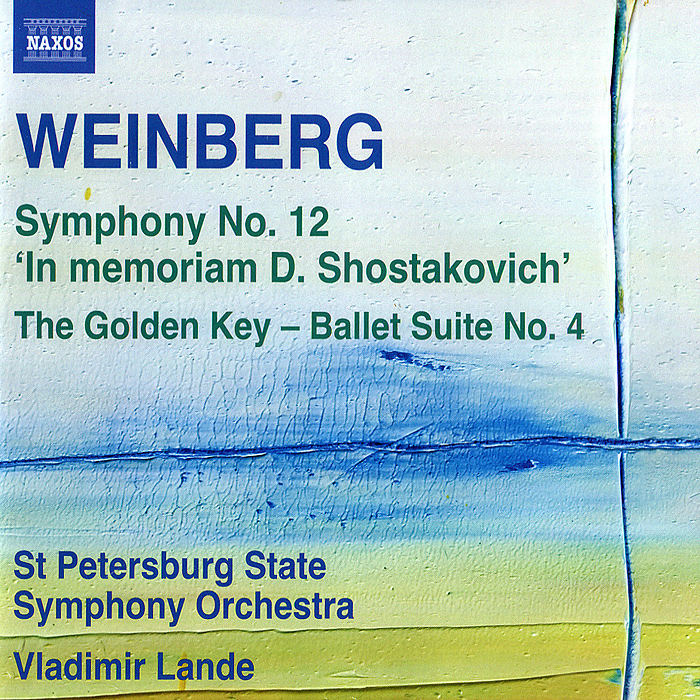 St Petersburg Symphony Orchestra,Владимир Ланде Weinberg. Symphony No. 12 / The Golden Key Suite No. 4 cd диск st petersburg state so vladimir lande weinberg mieczyslaw symphony no 12 in memory of dmitry shostakovich the golden key suite no 4 1 cd