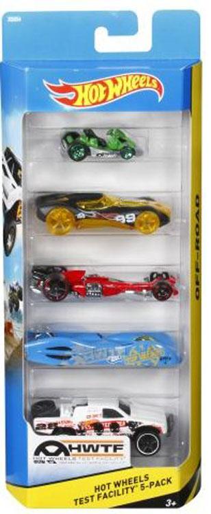 HOT WHEELS Подарочный набор из 5и машинок. 1806_X9854 hot wheels 1806 подарочный набор из 5 машинок hw street beasts