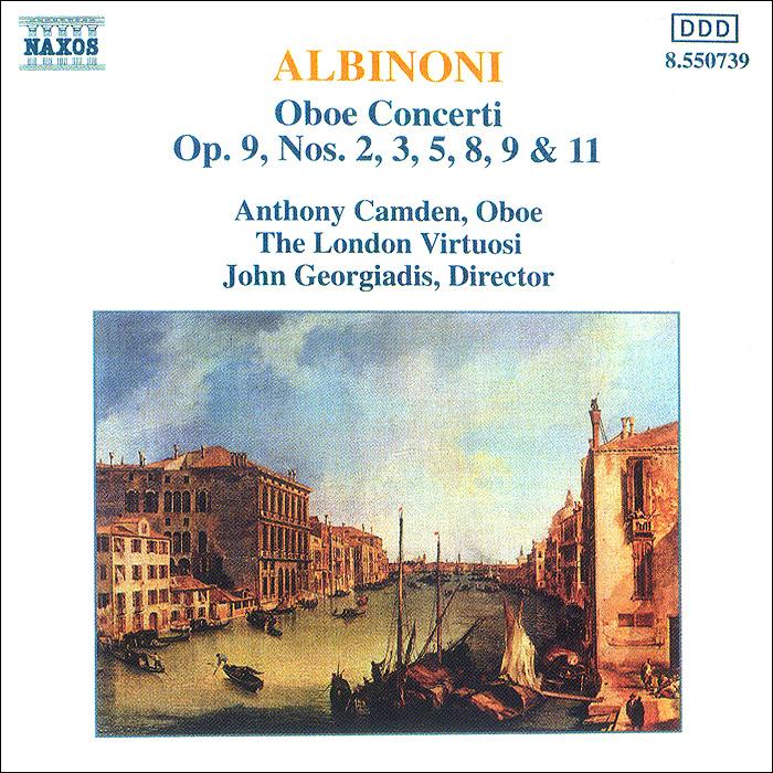 Энтони Камден,Юлия Гервуд,The London Virtuosi,Джон Георгиадис Albinoni. Oboe Concerti. Vol. 1 international iron man vol 1
