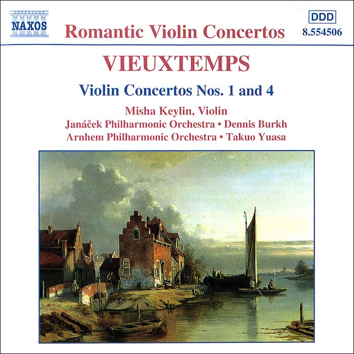 Vieuxtemps. Violin Concertos Nos. 1 And 4