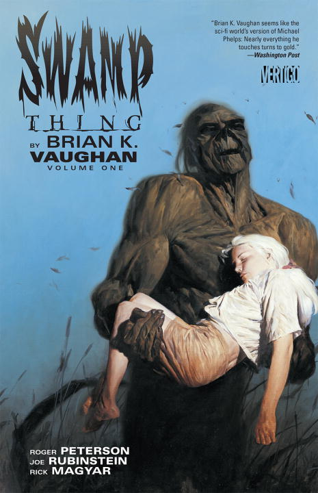 ST BRIAN K. VAUGHAN VOL 01 saga of the swamp thing book four