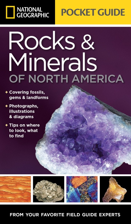 Rocks and Minerals of North America: Pocket Guide national geographic pocket guide to the night sky of north america