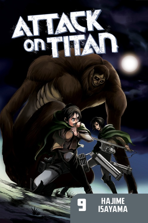 Attack on Titan: Volume 9 hajime isayama attack on titan volume 10