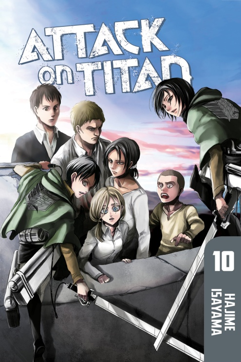 Attack on Titan: Volume 10 hajime isayama attack on titan volume 10