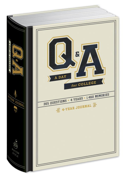 Q and A a Day for College: 4-Year Journal one breath at a time