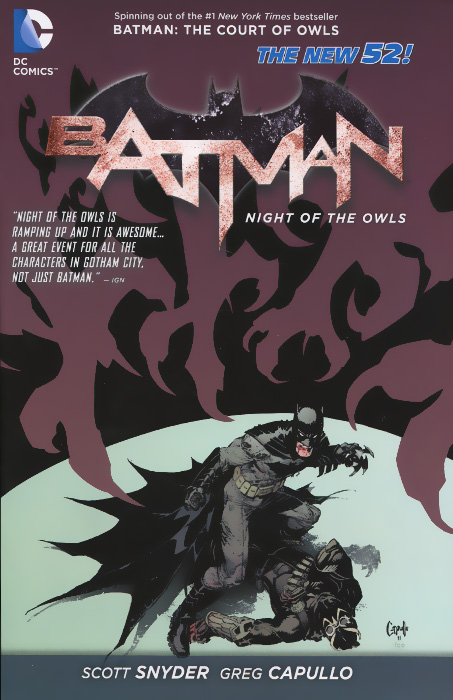 Batman: Night of the Owls batman volume 1 the court of owls