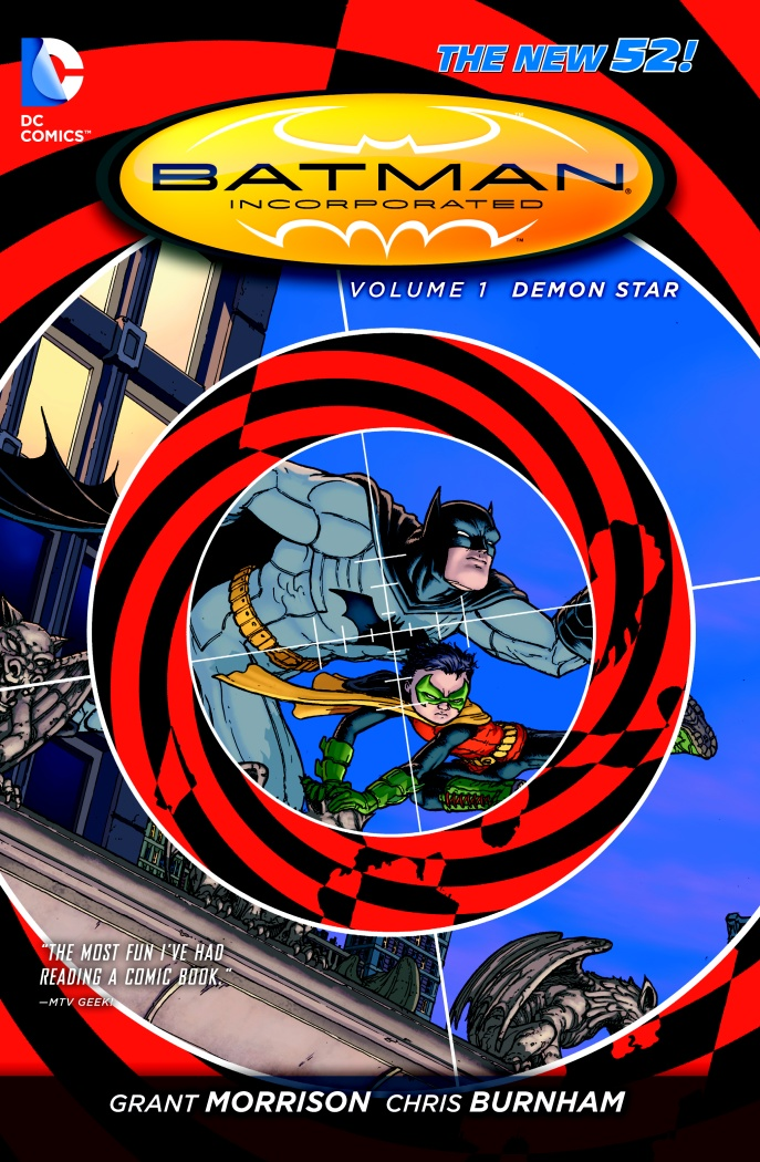 BM INC. VOL 01 DEMON STAR batman incorporated volume 1 deluxe