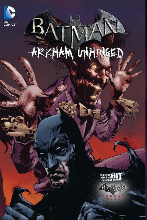 BM ARKHAM UNHINGED VOL 03 GAME batman arkham clayface