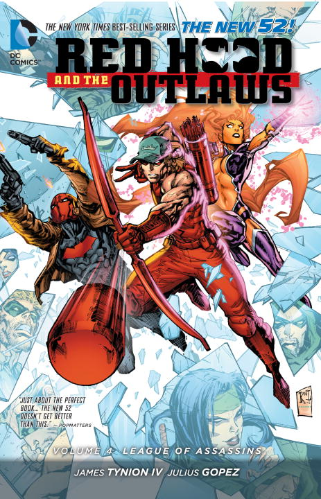 Red Hood And the Outlaws: Volume 4: League of Assassins the lighye caste system