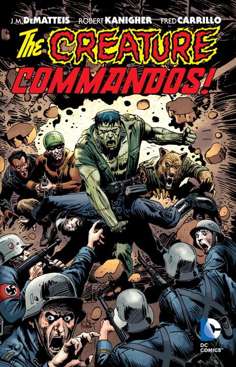 CREATURE COMMANDOS creature commandos