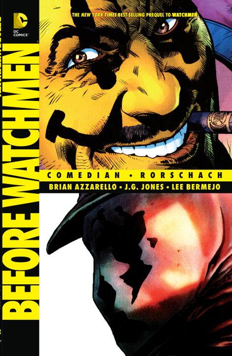 Before Watchmen: Comedian/Rorschach before watchmen comedian rorschach