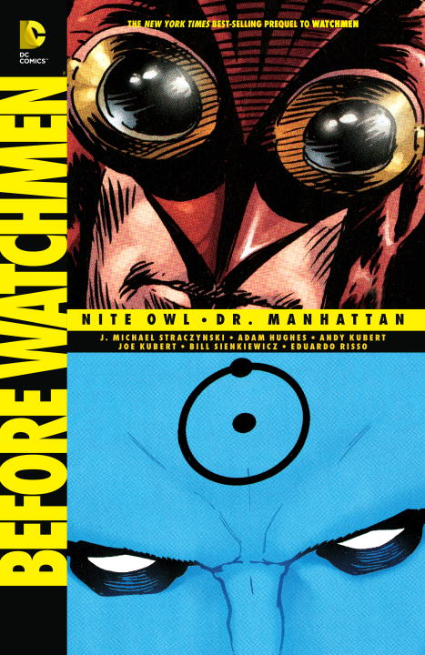 Before Watchmen: Nite Owl: Dr. Manhattan seeing things as they are