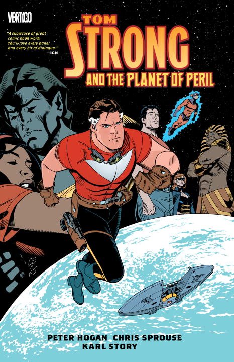 TOM STRONG PLANET OF PERIL barron t a atlantis in peril