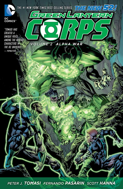 GLC VOL 02 ALPHA WAR green lantern the wrath of the first lantern