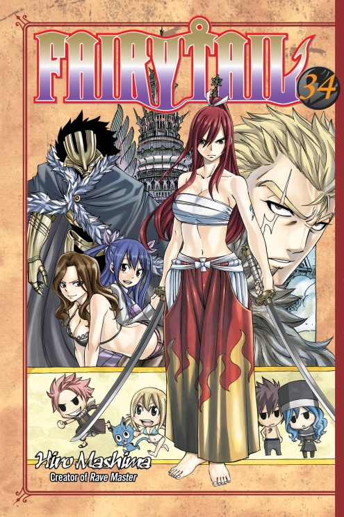 Fairy Tail: Volume 34 the wizards of once