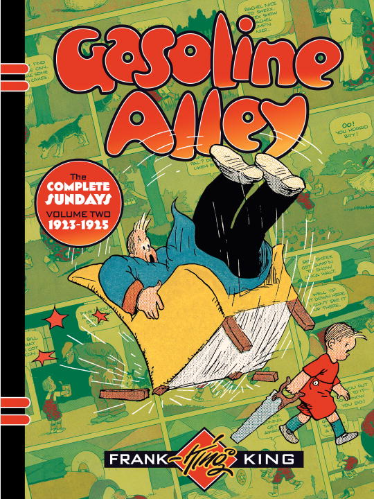 GASOLINE ALLEY: VOL. 2 crusade vol 3 the master of machines