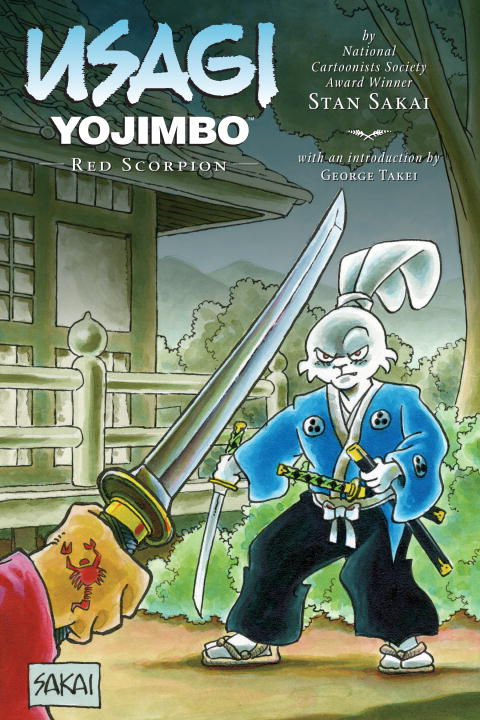 Usagi Yojimbo Vol.28 Red Scorpion usagi yojimbo volume 31 the hell screen