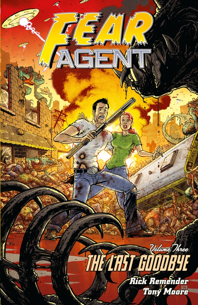 FEAR AGENT VOL. 3 earth 2 vol 3 battle cry the new 52