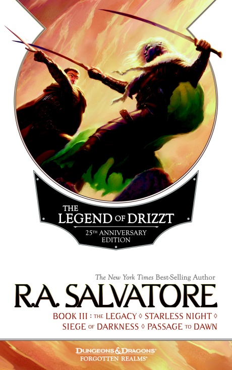 LEGEND OF DRIZZT III - 25TH