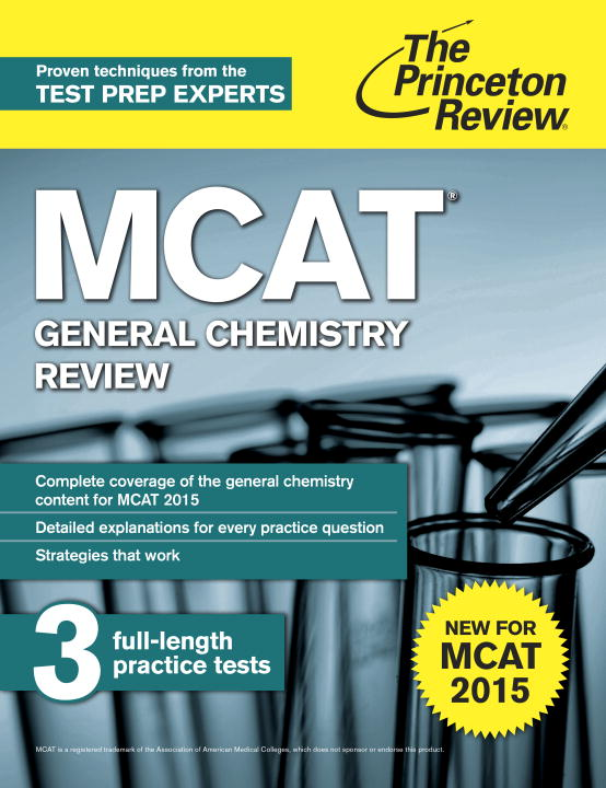 MCAT GENERAL CHEMISTRY REV 2ED