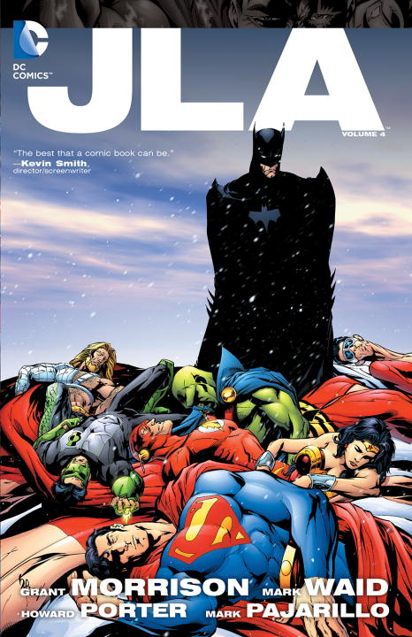JLA V4 grant morrison the invisibles