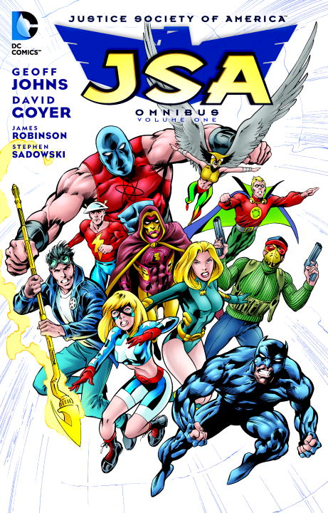 JSA OMNIBUS BY G. JOHNS V1 powers the definitive hardcover collection vol 7