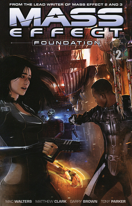 Mass Effect: Foundation: Volume 2 mass effect universe