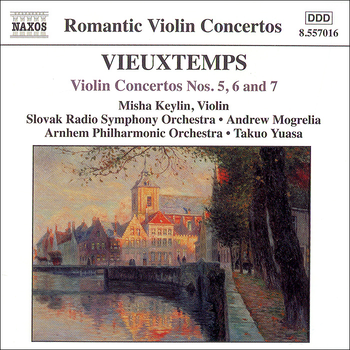 все цены на Misha Keylin,Slovak Radio Symphony Orchestra,Andrew Mogrelia,Arnhem Philharmonic Orchestra,Такио Юаса Vieuxtemps. Violin Concertos Nos. 5, 6 And 7
