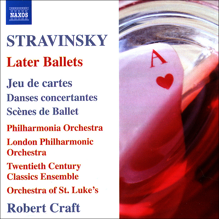 Stravinsky. Later Ballets