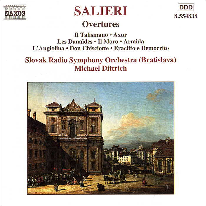 все цены на Томас Фей,Mannheim Mozart Orchestra,Михаэль Дитрих Salieri. Overtures