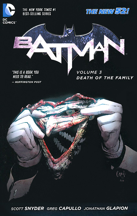 Batman: Volume 3: Death of the Family batman volume 1 the court of owls