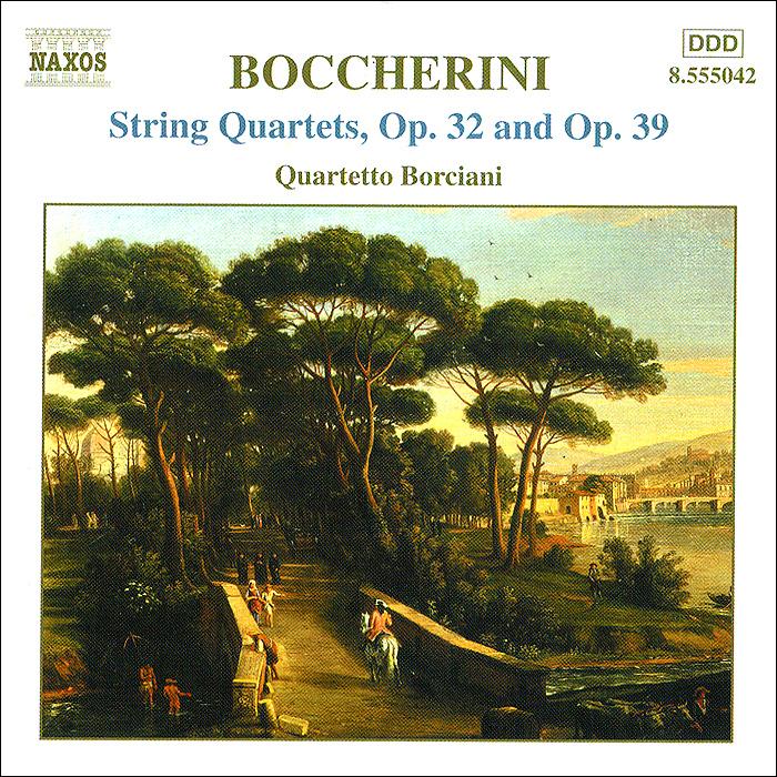 Фульвио Лучиани,Елена Понзони,Роберто Тарензи,Клаудия Раветто Boccherini. String Quartets, Op.32 And 39