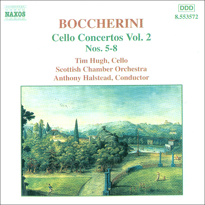 Тим Хью,Энтони Холстед,Scottish Chamber Orchestra Boccherini. Cello Concertos. Vol 2. Nos. 5-8 тим хью хидэми судзуки bournemouth sinfonietta ричард студ c p e bach cello concertos wq 170 172