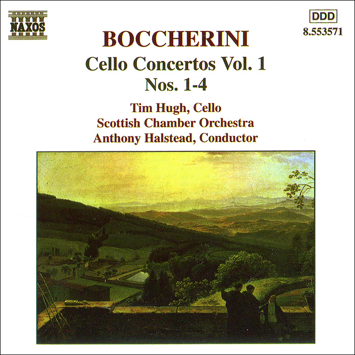 Тим Хью,Scottish Chamber Orchestra,Энтони Холстед Boccherini. Cello Concertos. Vol. 1 тим хью хидэми судзуки bournemouth sinfonietta ричард студ c p e bach cello concertos wq 170 172