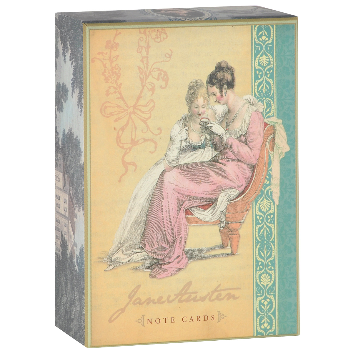 Jane Austen Note Cards (набор из 16 открыток и 17 конвертов) jane austen note cards