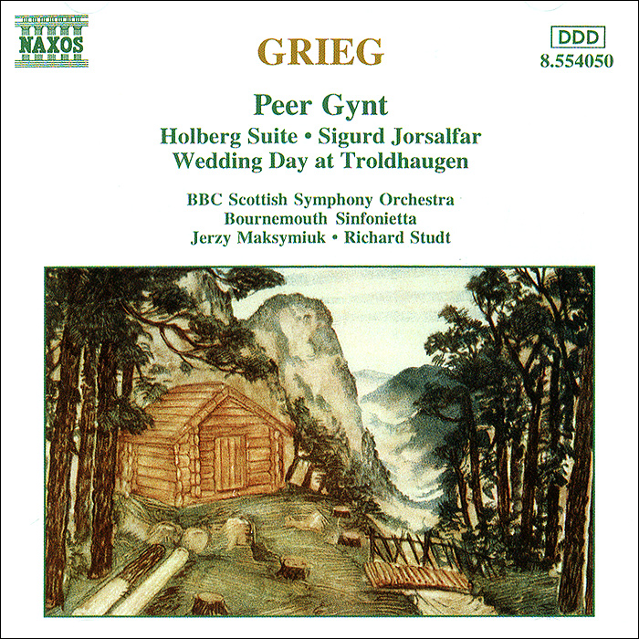 BBC Scottish Symphony Orchestra,Ежи Максимюк Grieg. Orchestral Music human rights brought home