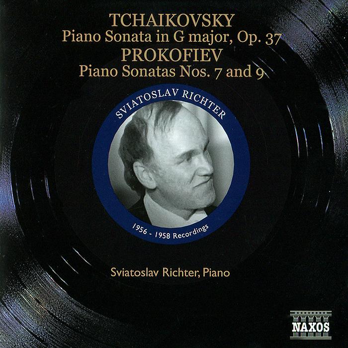 Святослав Рихтер Sviatoslav Richter. Tchaikovsky, Prokofiev. Early Recordings. Vol. 2 (1956-1958) цена
