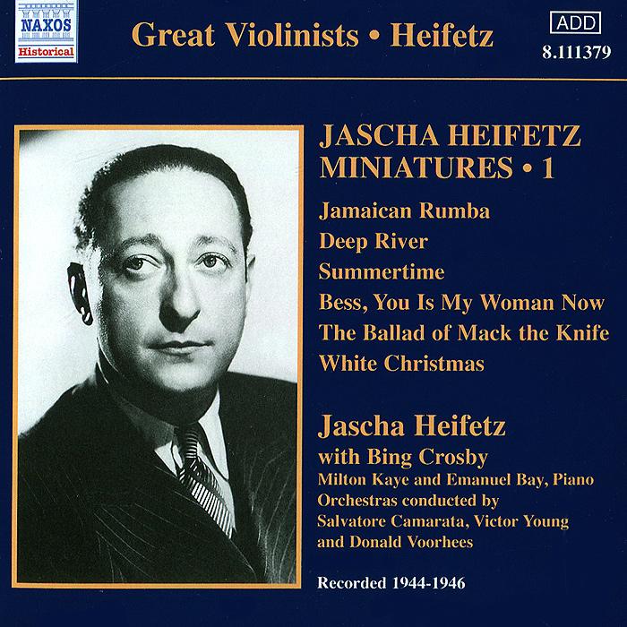 Яков Хейфец,Бинг Кросби,Элизабет Приджен Jascha Heifetz. Miniatures, Vol. 1 (1944-1946) international iron man vol 1