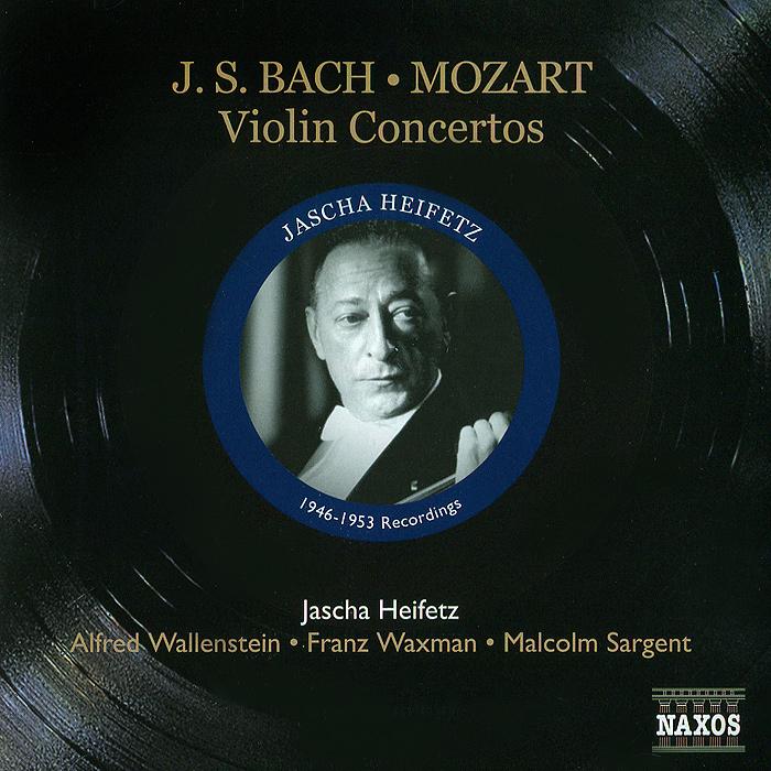 Яков Хейфец Jascha Heifetz. Bach / Mozart. Violin Concertos bach bach violin concertos nos 1 2 180 gr