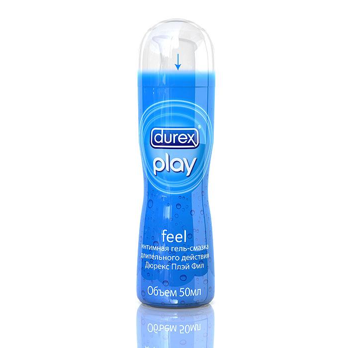 """Durex Гель-смазка """"Play Feel"""", для повышения чувствительности, 50 мл"""
