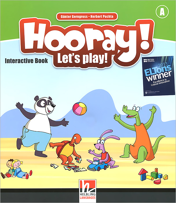 Hooray! Let's Play! Interactive Book stories for 3 year olds