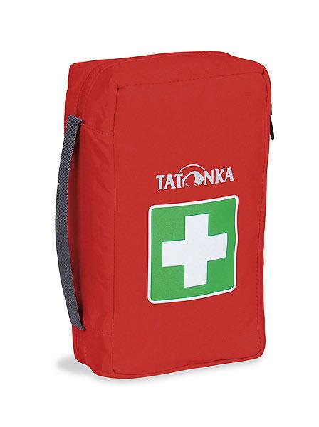Сумка для медикаментов (аптечка) Tatonka First Aid M, цвет: красный. 2815.0152815.015Компактная походная аптечка (без содержимого). Аптечка удобно раскладывается, имеет множество кармашков внутри, молнию по периметру и петли для крепления на пояс.Особенности: молния по периметру,петли для крепления на пояс,удобные кармашки внутри,прочный материал.