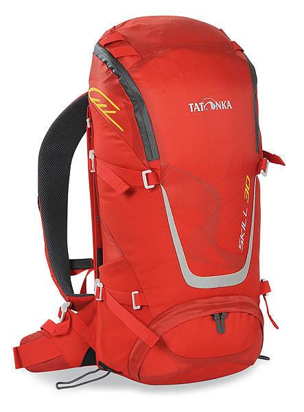 Рюкзак спортивный Tatonka Skill 30, цвет: красный, 30 л1480.015Легкий спортивный рюкзак Tatonka Skill 30 с фронтальной загрузкой. Новая система подвески X Vent Zero обеспечивает отличную вентиляцию спины, фиксацию и распределение груза. Рюкзак имеет хорошее оснащение при весе меньше 1 кг.Особенности рюкзака:Подвеска X Vent Zero.Удобный доступ в основное отделение на водонепроницаемой молнии.Петли на клапане для крепления дополнительного снаряжения.Держатель ключей.Дождевой чехол яркого цвета.Мягкие лямки эргономичной формы с эластичным нагрудным ремнем.Мягкий поясной ремень.Боковые стяжки.Петли для палок или ледоруба.Отдельный доступ в нижнее отделение.Ручка для переноски.