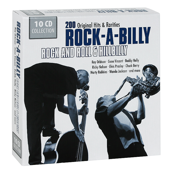 Rock-A-Billy. Rock And Roll & Hillbilly (10 CD)