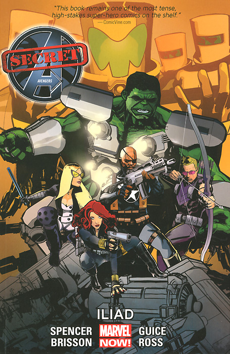 Secret Avengers: Iliad: Volume 2 dave crenshaw invaluable the secret to becoming irreplaceable