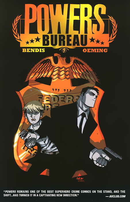 Powers: Bureau: Volume 1: Undercover oliver simon fbp federal bureau of physics vol 4