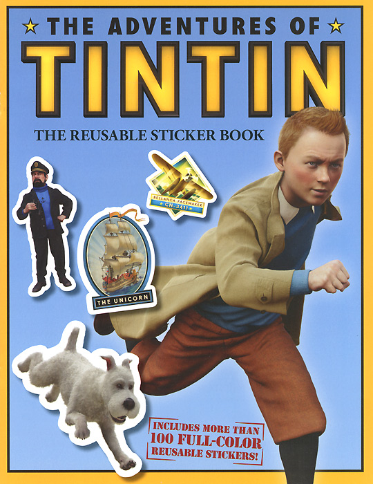 The Adventures of Tintin: The Reusable Sticker Book bugs sticker book 400 reusable stickers