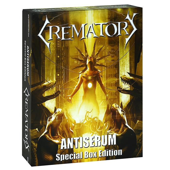 Фото - Crematory Crematory. Antiserum. Special Edition (2 CD) cd led zeppelin ii deluxe edition
