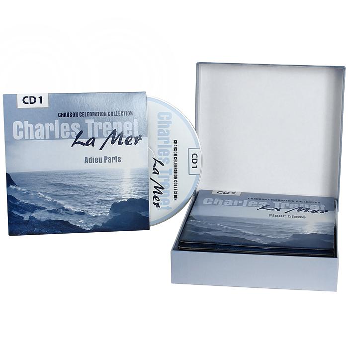 Charles Trenet.  La Mer.  Chanson Celebration Collection (10 CD)